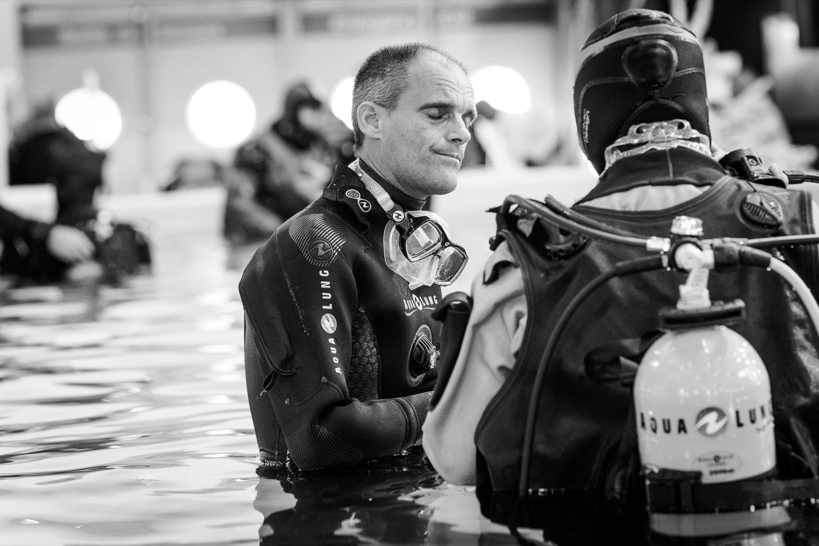 photo du salon de la plongée par Mardi Bleu – Agence de communication – photo & vidéo