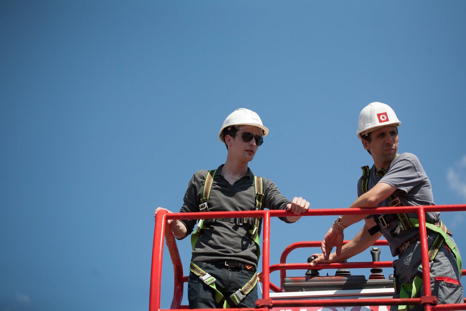 photo de chantiers Vinci par Mardi Bleu – Agence de communication – photo & vidéo