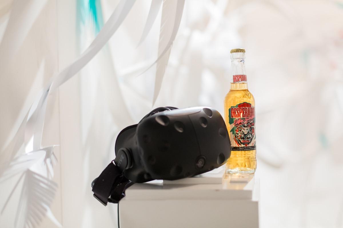 La réalité virtuelle et Desperados - Mardi Bleu – Agence de communication – photo & vidéo