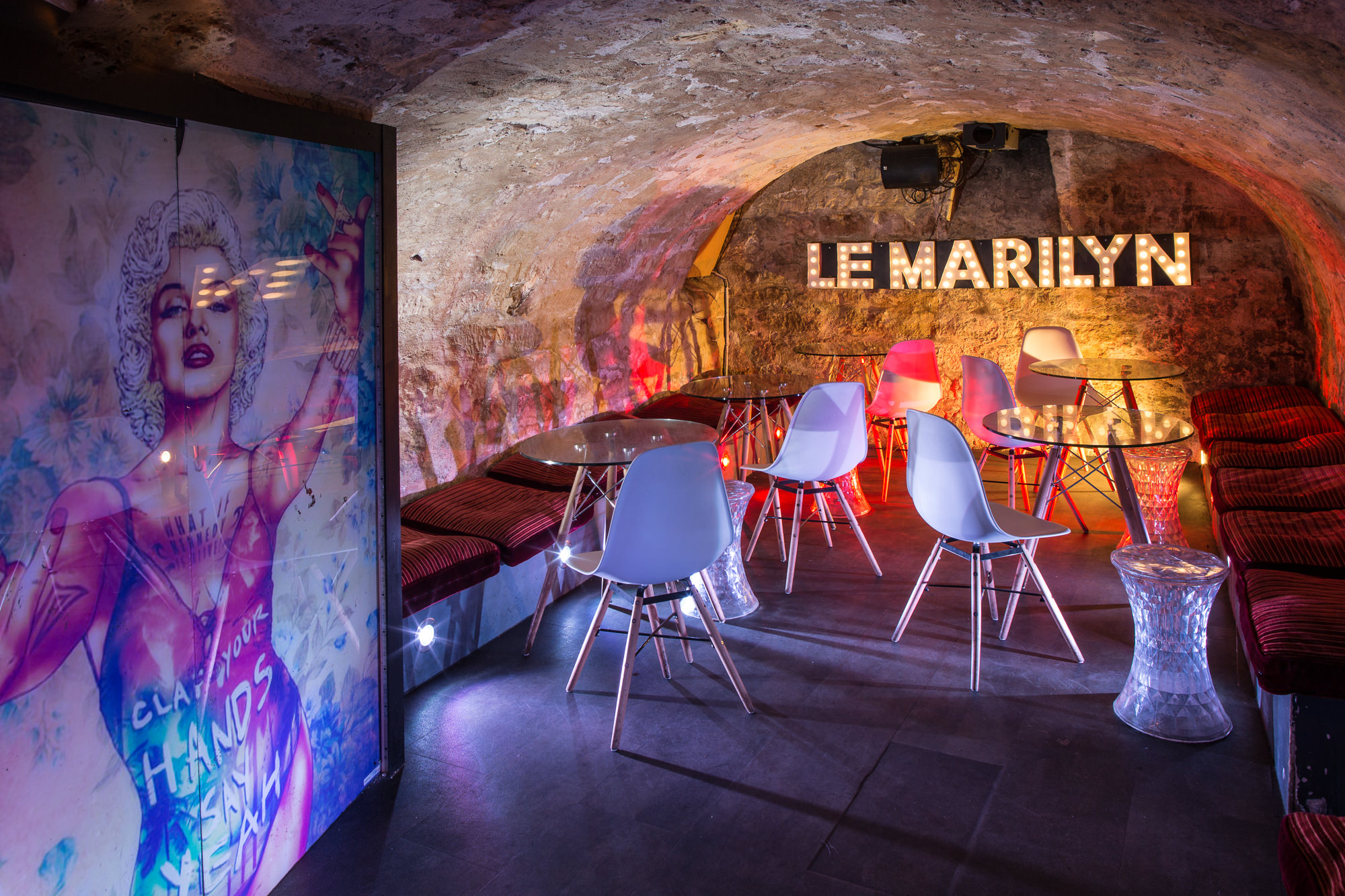 Photo architecture Bar le Marylin Paris, MardiBleu – Agence de communication – photo & vidéo
