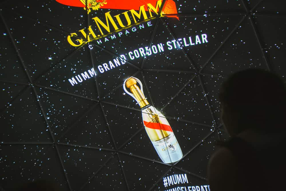 Usain Bolt x GH MUMM, Grand Cordon Rouge Stellar - MardiBleu – Agence de communication – photo & vidéo